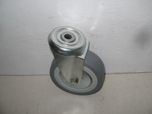 Hátfuratos lyukas golyóscsapágyas forgó kerék 100 mm