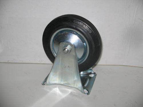 Fix kerék  fekete gumis 160 mm