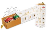 Albertengo mini panettone szett elegáns dobozban 3x110g