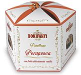 Bonifanti panettone körtés-őszibarackos 1kg