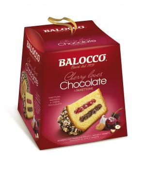 Balocco meggyes-csokis panettone 800g