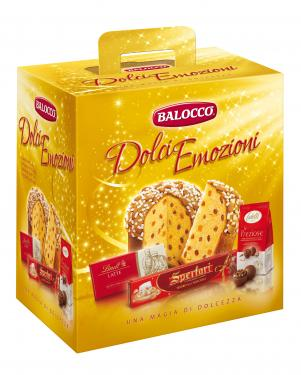 Balocco Panettone Mandorlato Dolci Emozioni szett