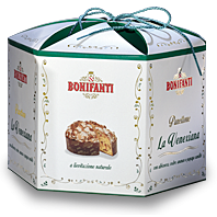 Bonifanti panettone Venexiana gyümölcsökkel díszdobozban 1kg