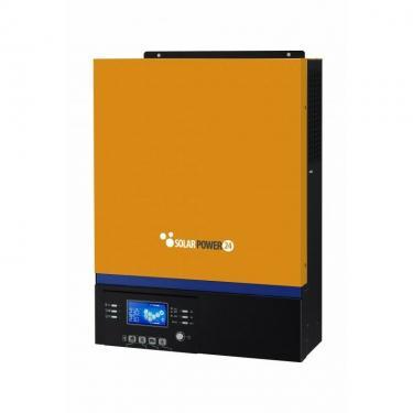 3 kVA/24 V Tiszta szinuszos, szigetüzemű napelemes inverter 60 A 1000 W PV