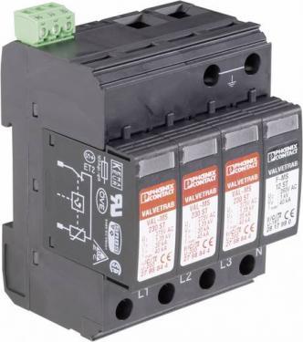 AC túlfeszültséglevezető 3fázisú, Phoenix Contact VAL-MS 230/3+1 C típusú