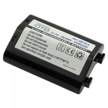 Nikon EN-EL4a Li-Ion 2600mAh utángyártott akku/akkumulátor