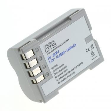 Olympus BLM-5 Li-Ion utángyártott akku/akkumulátor