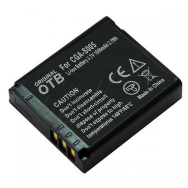 Panasonic CGA-S005 1000mAh Li-Ion utángyártott akku/akkumulátor
