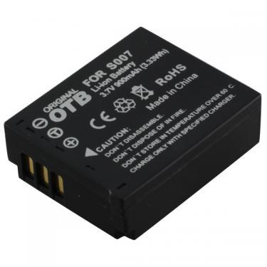 Panasonic CGA-S007 / DMW-BCD-10 Li-Ion utángyártott akku/akkumulátor