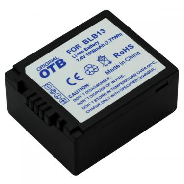 Panasonic DMW-BLB13/DMW-BLB13E Li-Ion utángyártott akku/akkumulátor