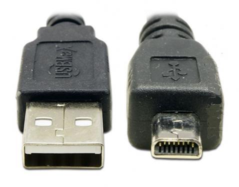 Panasonic fényképezőgép kompatibilis USB kábel