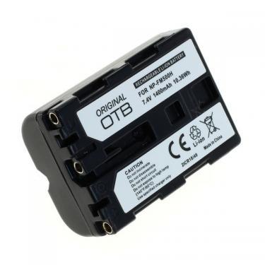 Sony NP-FM500H 1400mAh Li-Ion utángyártott akku/akkumulátor