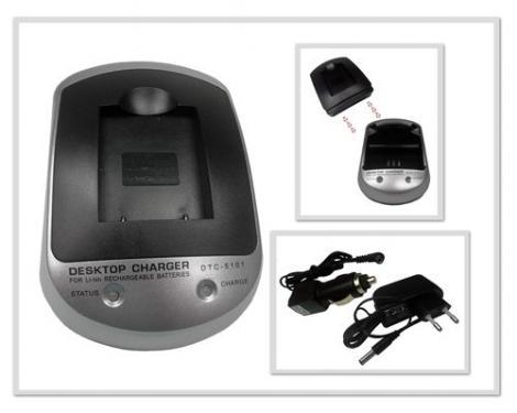 Sony NP-FM90/ NP-FM500/ NP-FM550 utángyártott töltő