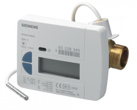 Siemens WFM502-E000H0 szárnykerekes hőmennyiségmérő 1,5 m3/h