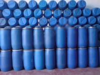 2. <> 120 Literes, Új, Levehető Tetejű Műanyag Csatos Hordó - BIDON