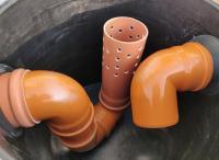 1. <> Előszűrő / ülepítő akna esővízgyűjtő tartályokhoz - DN 470