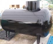 1. <> UNITANK-3 m3-es acél esővíz / csapadék gyűjtő tartály