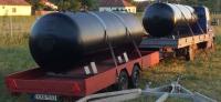 1. UNITANK-3 m3-es acél tűzi-víz tároló tartály