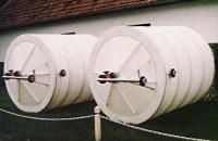 3.2. <> PPW/PEW - 4 m3-es  műanyag ivóvíz tároló tartály+tető