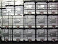 2.2. <> Felújított, IBC, ÉLELMISZERES, 1000 L-es tartály / konténer