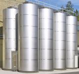 2. 25 m3-es folyékony műtrágya / Nitrosol tároló tartály - INOX