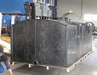 2. <> 9 m3-es PE. műanyag szögletes szállító tartály