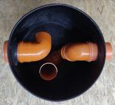 1.2. <> Előszűrő / ülepítő akna esővízgyűjtő tartályokhoz - DN 600 - 140 liter