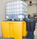 2. <> Kármentő, 1 palettás - 1000 L-es IBC tartályhoz - MD-PE