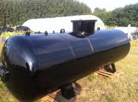2. UNITANK-5 m3-es acél szennyvíz gyűjtő tartály