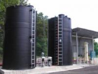 1. 21 m3-es folyékony műtrágya / Nitrosol tároló tartály - MŰANYAG