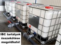 4.5. <> 1000 liter használt, tiszta IBC, általános IPARI felhasználásra, I. osztály, tartály