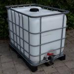 1.8. <> 640 liter használt, tiszta IBC, általános IPARI felhasználásra, I. osztály, tartály - S13
