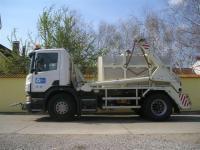 4. 8 m3-es PP. műanyag szállító tartály