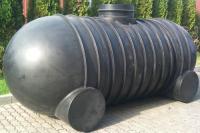 5.3. <> UNITANK - 5/2G  5 m3-es műanyag esővíz gyűjtő, lépésálló tetővel