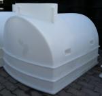 1.4. <> UNITANK - 1W - hosszú íves - 1100 L-es műanyag ivóvíz tartály