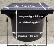 6.3. DN 1000/820 alacsony akna, lépésálló tetővel