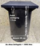 6.7. DN 1000/1550 akna, lépésálló tetővel