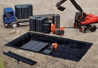 4. Geotextília 500g/m2 - esővíz szikkasztó köré