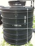 8.3 DN 1500 - 2,5 m3 - szivattyú / szerelő akna - lépésálló tetővel