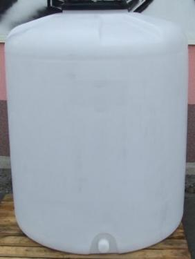 1.3. <> PEW-AT - 1,5 m3-es - álló henger - műanyag ivóvíz tároló tartály+tető