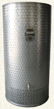 1.4. <> 150 L-es hűtőkompresszoros rozsdamentes hűtő tartály