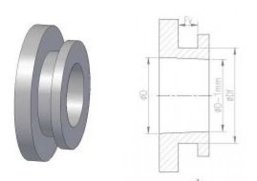 9.0 <> DN 50 -es gumi csatlakozó tartályokhoz