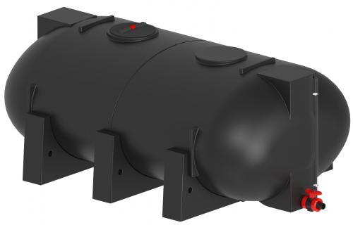 9.3 <> 6000 literes PE. - LENCSE - műanyag szállítótartály műanyag lábakkal