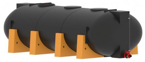 9.4 <> 8000 literes PE. - LENCSE - műanyag szállítótartály műanyag lábakkal