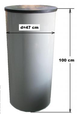 2. DN 470 hegesztett PE. vízóra akna - lépésálló tetővel