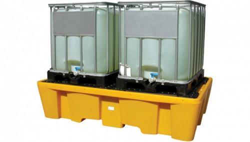 3. <> Kármentő, 2 palettás - 1000 L-es IBC tartályhoz - MD-PE