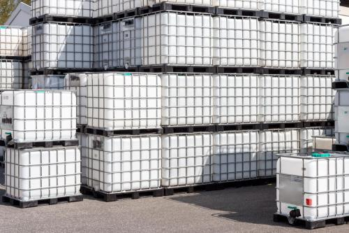 4.2. <> Tiszta, ÉLELMISZERES, IBC, 1000 L-es tartály / konténer