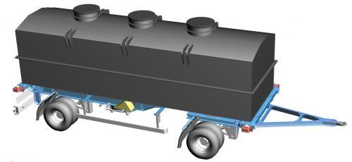5. 25 m3-es PE. műanyag szögletes szállító tartály AJÁNLAT