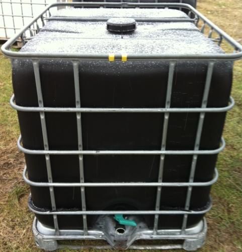 3. <> 1050 literes IBC tartály - fekete