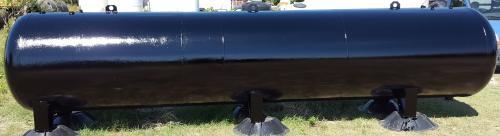 8. 7,5 m3-es acél fekvő hengeres szállító tartály